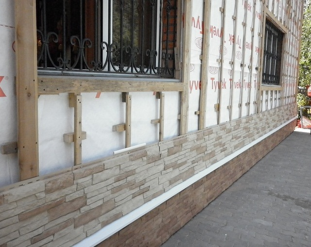 Фасадные панели монтаж своими руками фото