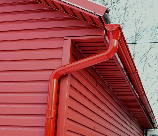 Siding GP Hampton Red