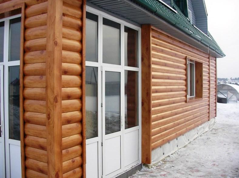 Фасадные панели Золотой дуб