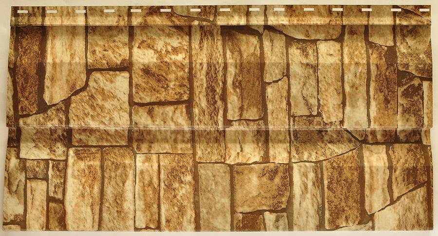 Металлический сайдинг под камень фото