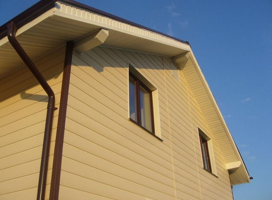 Металлический сайдинг цвета и ФОТО домов обшитых