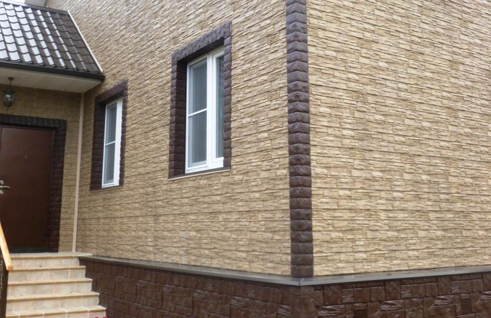 Фасадные панели сайдинг и клинкер