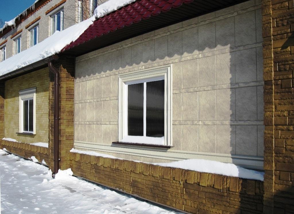 Фасадные панели Фасадная Плитка