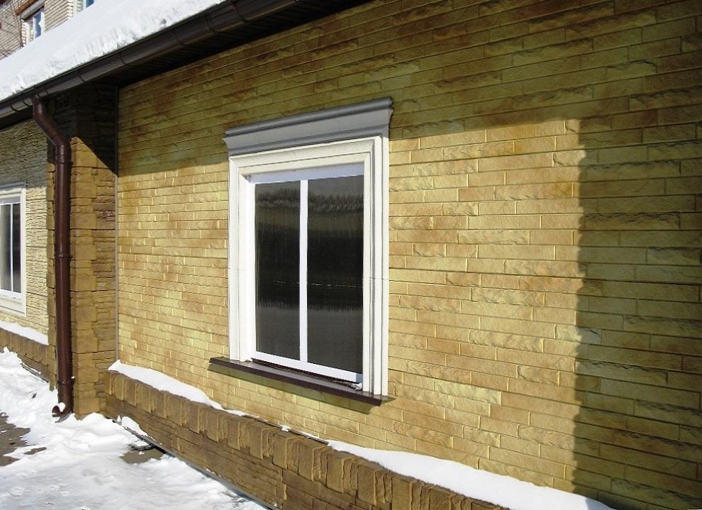 Фасадные панели Кирпич-Антик