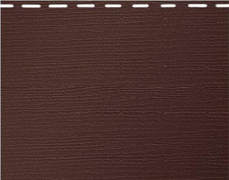 Вспененный сайдинг Альта-Борд - коричневый