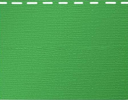 Вспененный сайдинг Альта-Борд - зеленый