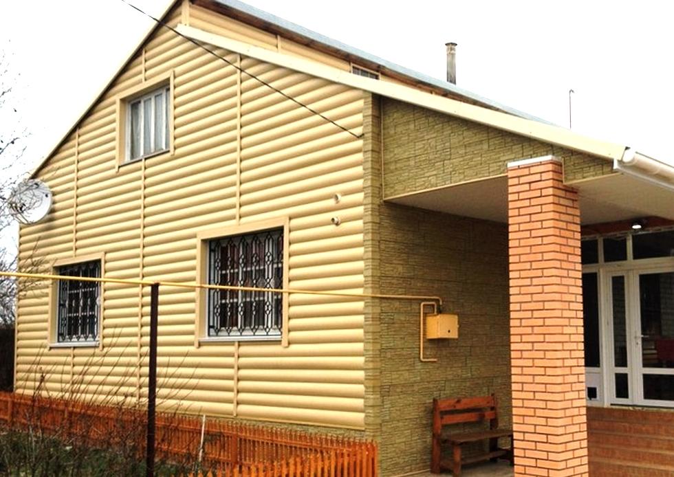 Альта Профиль, Блок Хаус - Золотистый сайдинг