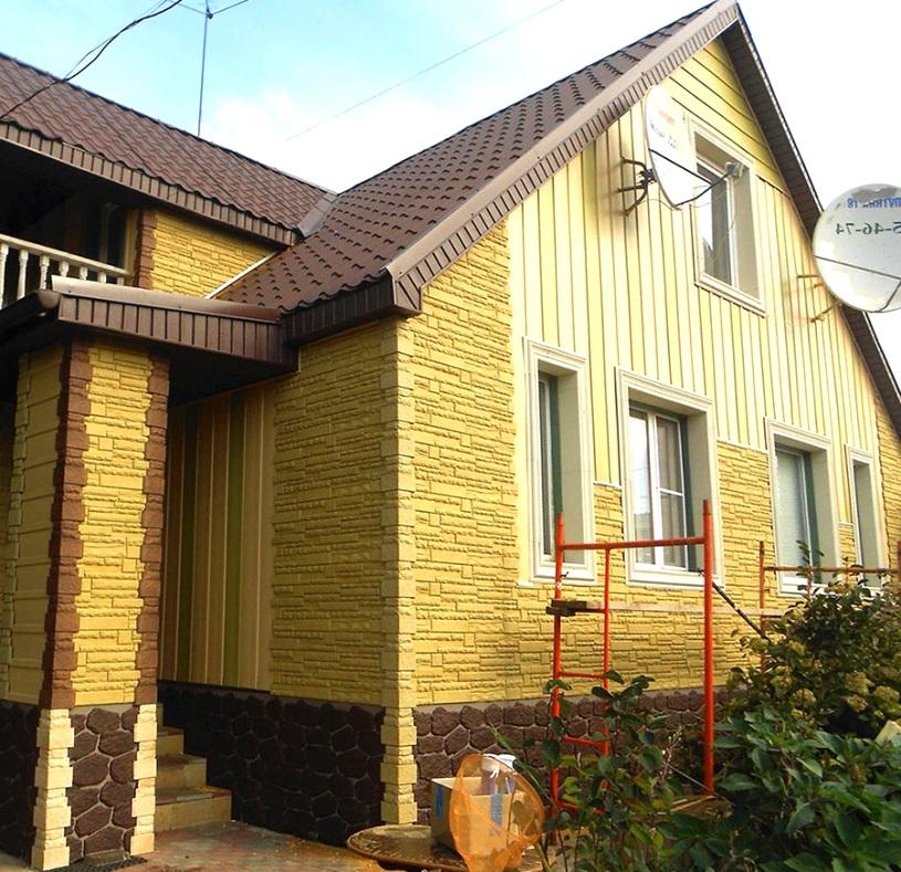 Вертикальный сайдинг Альта Профиль Quadrohouse и Фасадные панели