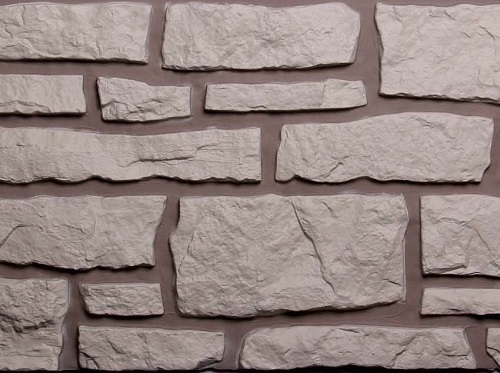 Nailite creek ledgestone vintage white