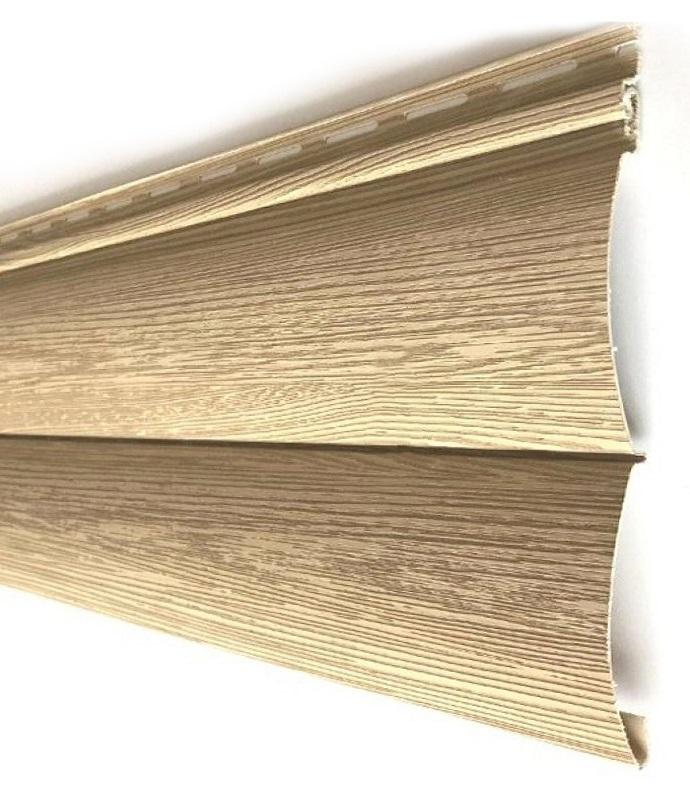 Tecos Оцилиндрованный брус двойной Сибирский кедр