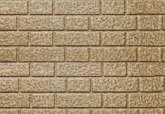 Brickwork - сайдинг Текос под кирпич - Camel Melange (Кэмел Меланж)