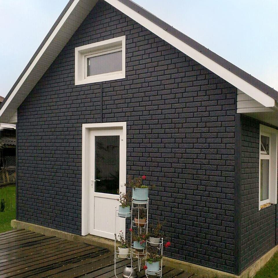 Ю-Пласт Stone House - кирпич графит